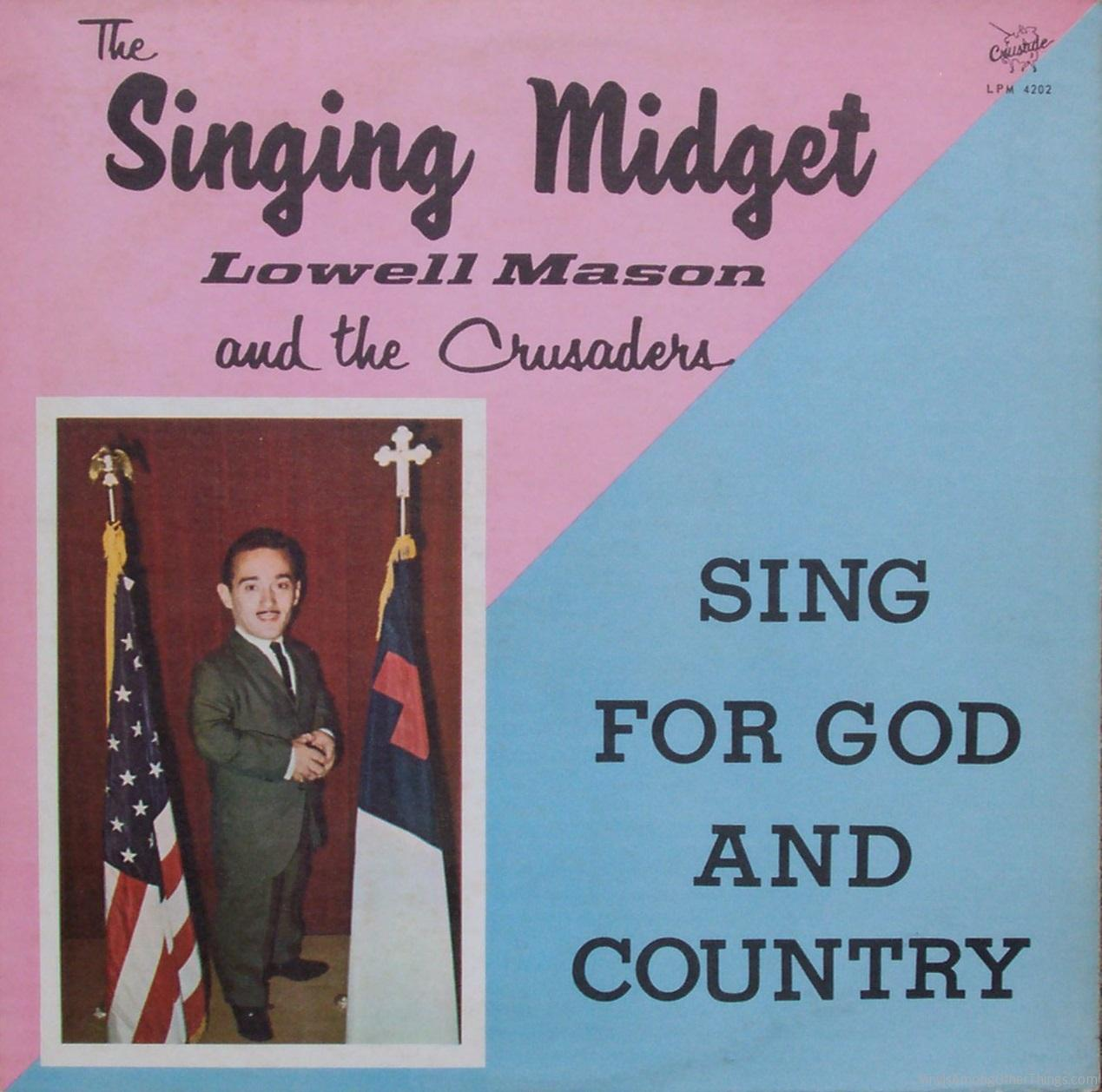 Lowell mason singing midget