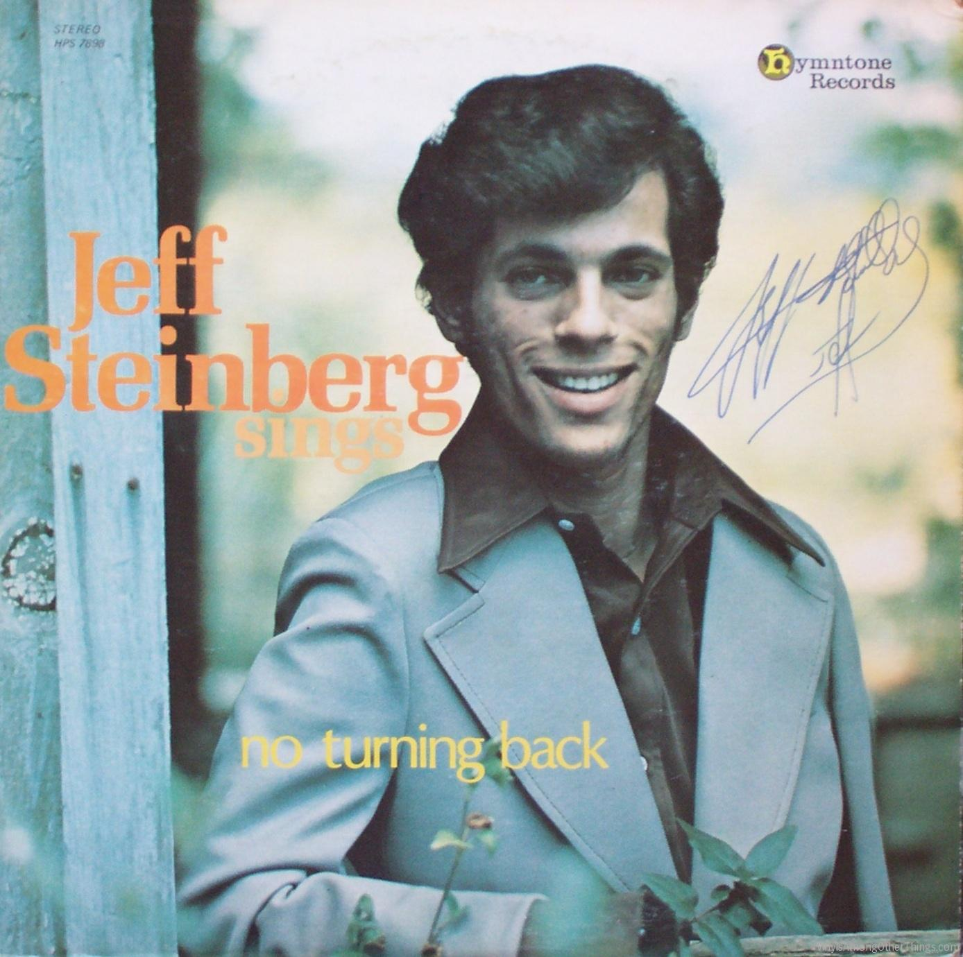 "Jeff Steinberg – ""No Turning Back"""