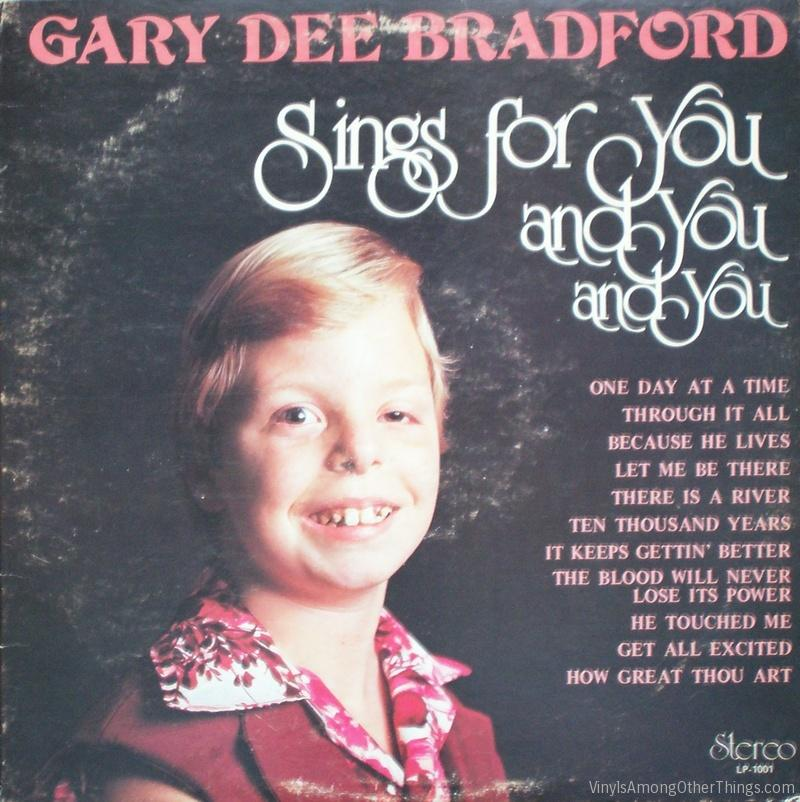 "Gary (Dee) Bradford – ""Gary Dee Bradford Sings for You, and You, and You"""