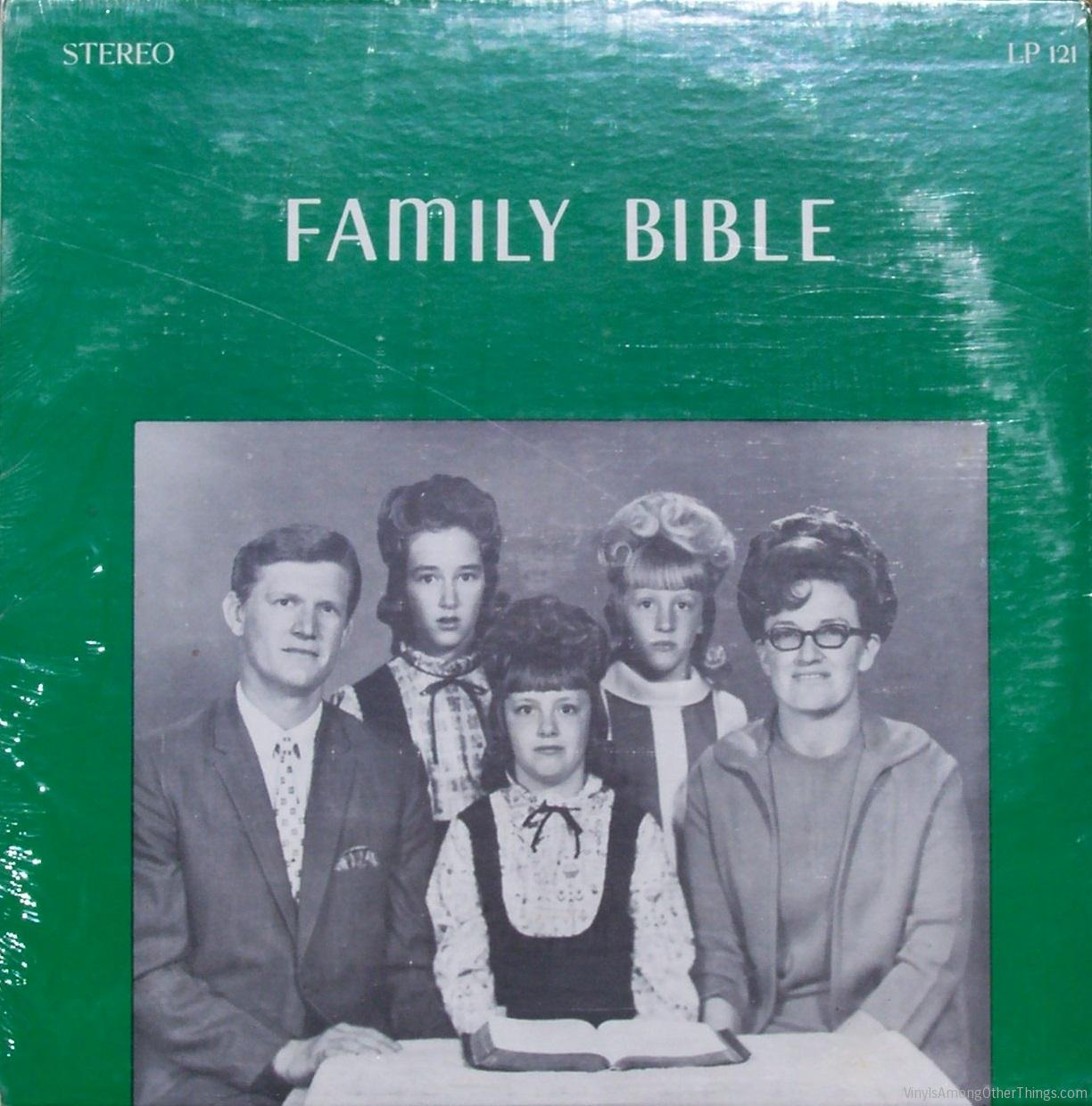 "The Ogdon Family – ""Family Bible"""