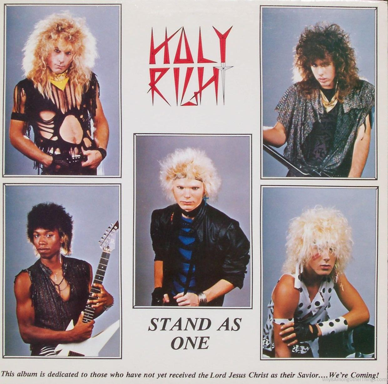 "Holy Right – ""Stand As One"""