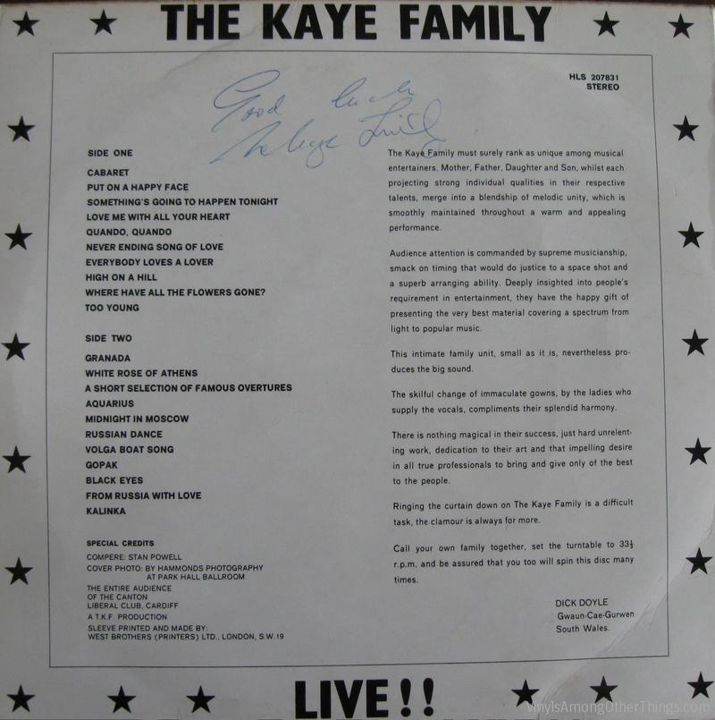 TheKayeFamilyLive