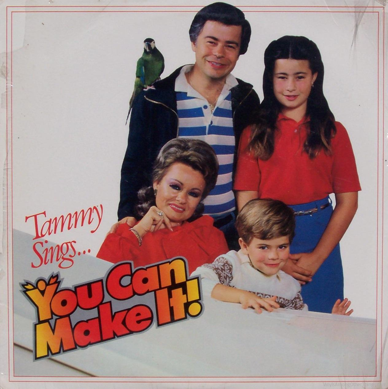 "Tammy Faye Bakker – ""Tammy Sings… You Can Make It!"""