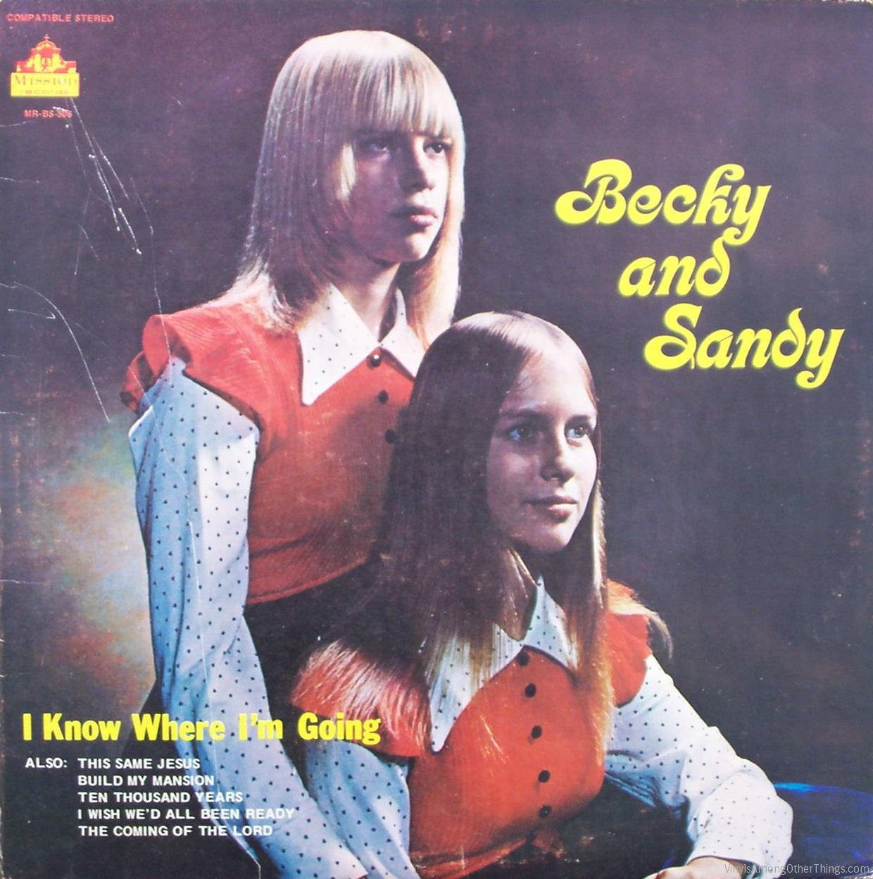 "Becky & Sandy – ""I Know Where I'm Going"""