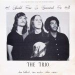 "The Trio – ""A Splendid Time Is Guaranteed For All"""