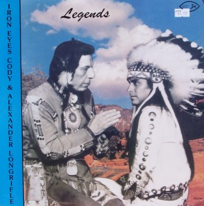 "Iron Eyes Cody & Alexander Longrifle – ""Legends"""