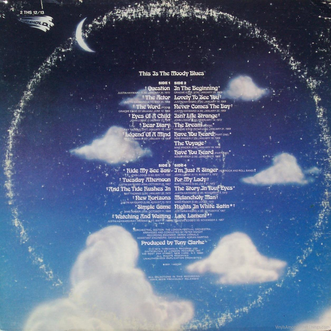 """The Moody Blues – """"This Is The Moody Blues"""""""