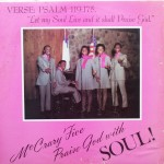 """McCrary Five – """"McCrary Five Praise God with Soul!"""""""