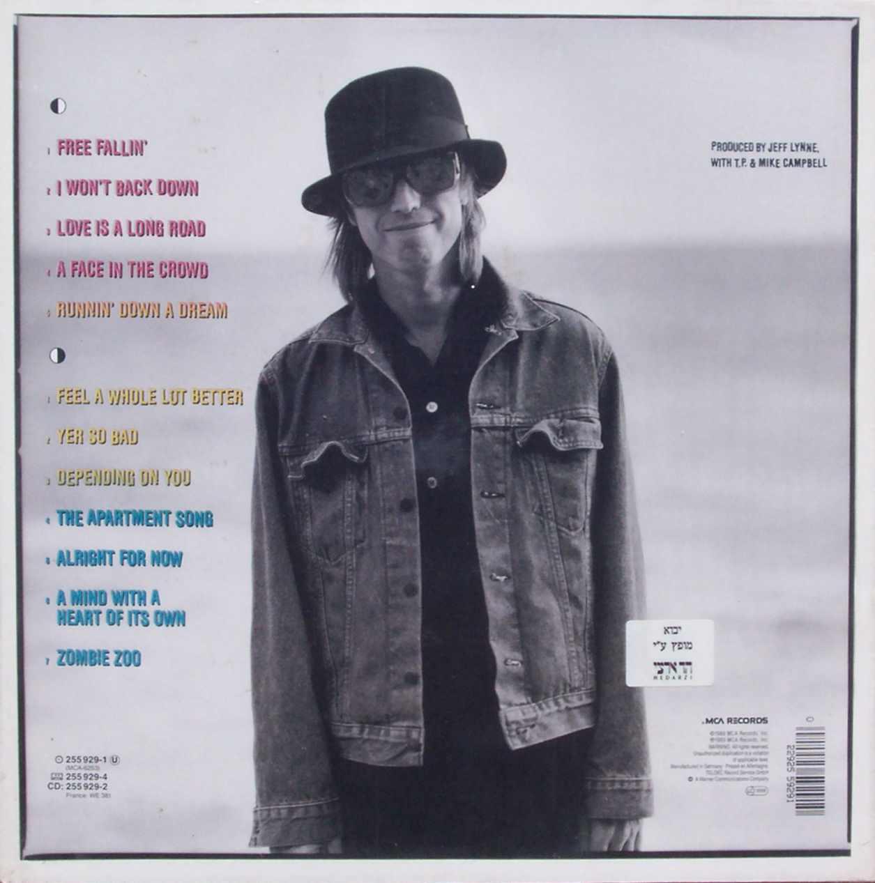 187 Tom Petty Full Moon Fever