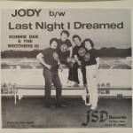 "Ronnie Dee & The Brothers III ‎– ""Jody / Last Night I Dreamed"""