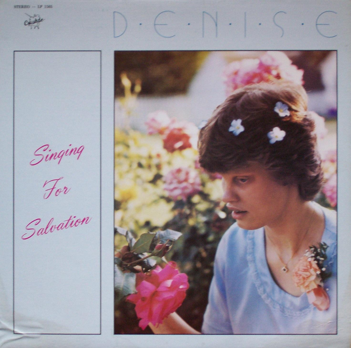 "Denise Klahn – ""Singing for Salvation"""