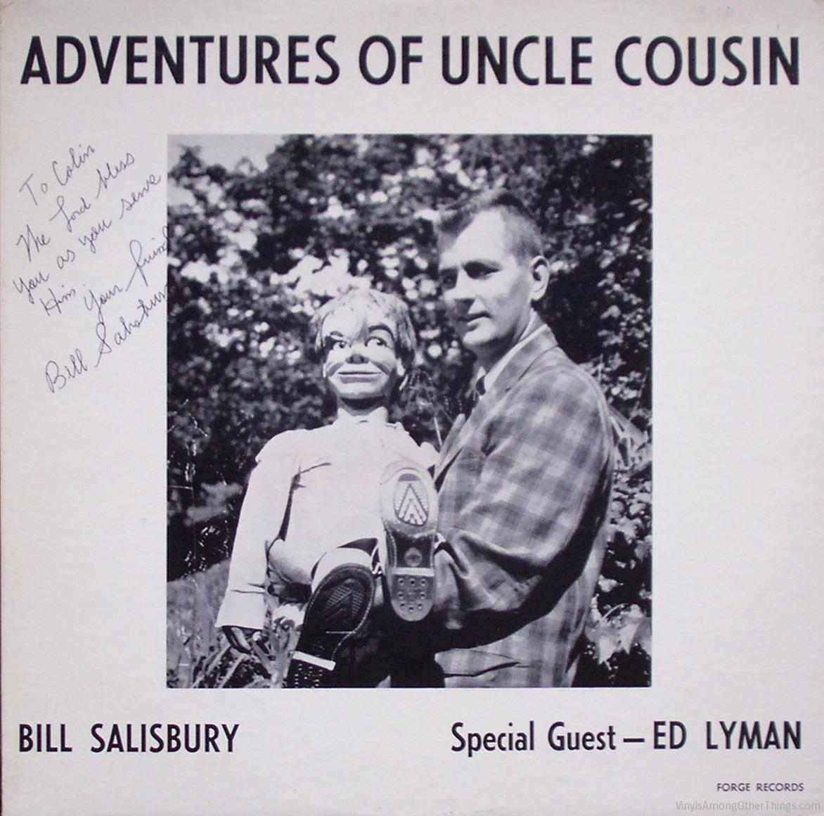 "Bill Salisbury – ""The Adventures of Uncle Cousin"""