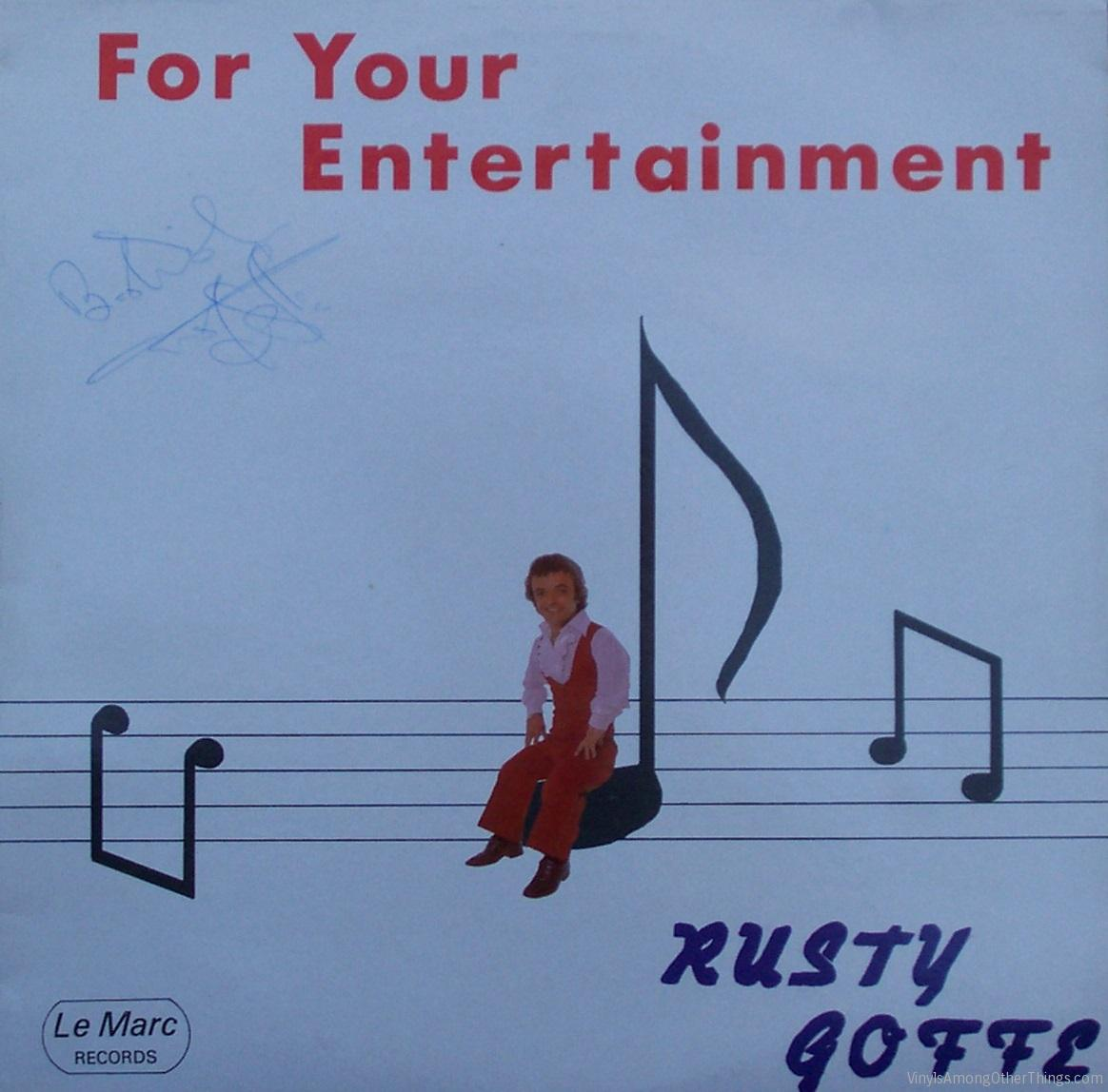 "Rusty Goffe – ""Rusty Goffe Sings and Plays for Your Entertainment"""