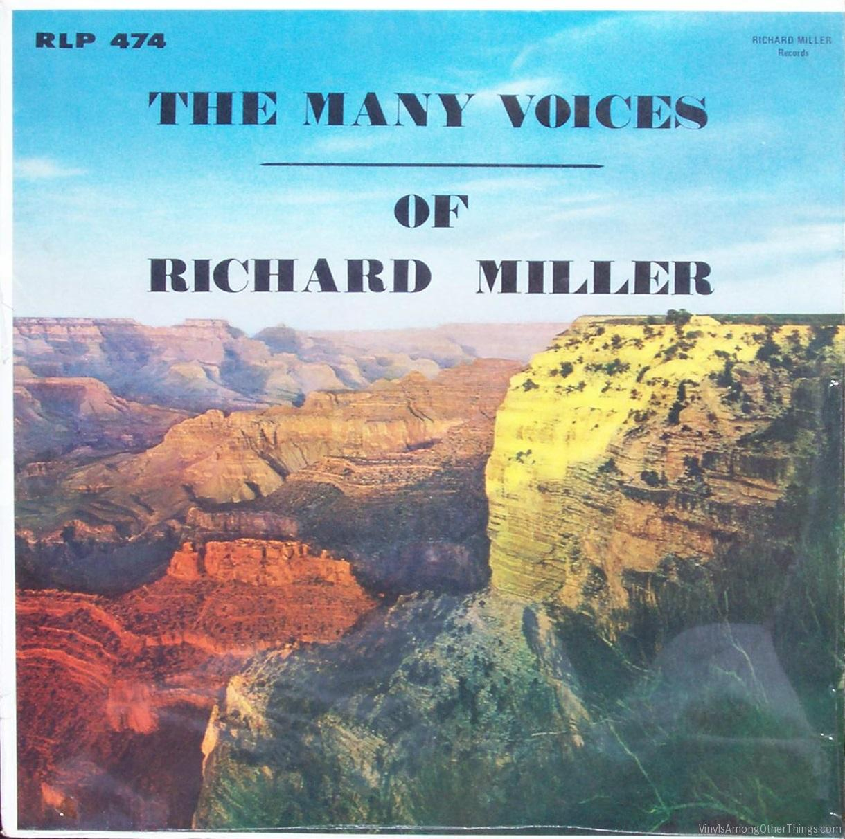 "Richard Miller – ""The Many Voices of Richard Miller"""