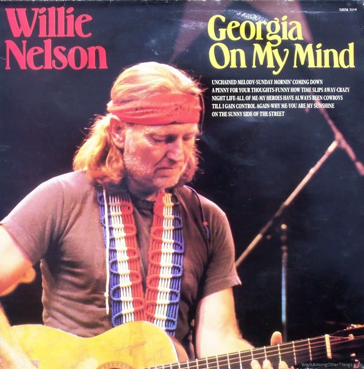 187 Willie Nelson Georgia On My Mind